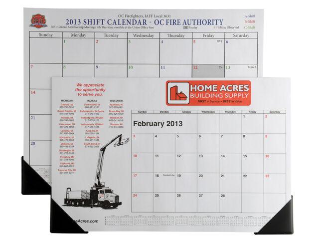 Full Size Desk Calendar