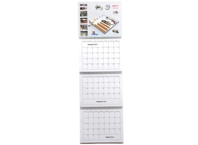 Four-Panel Calendar