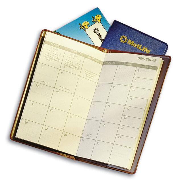Vinyl Monthly Pocket Planner