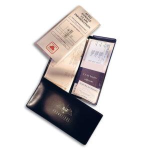 Policy Jacket Vinyl Document Holder