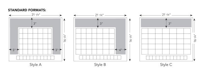 Full Size Desk Calendar Formats