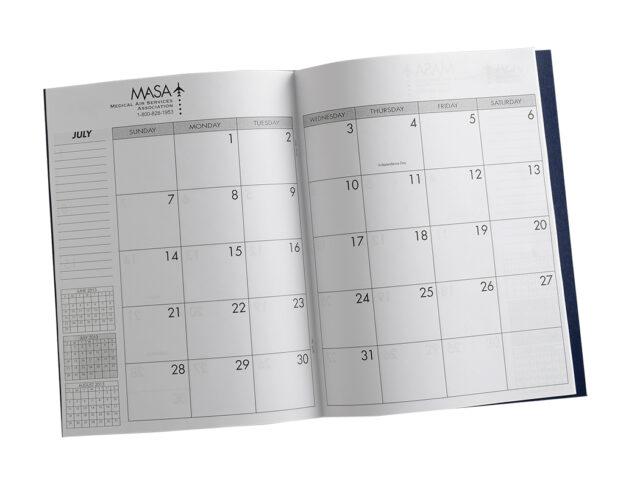 Composition Calendar Inside View