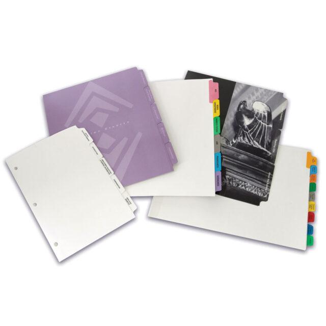 Custom Paper Index Tabs