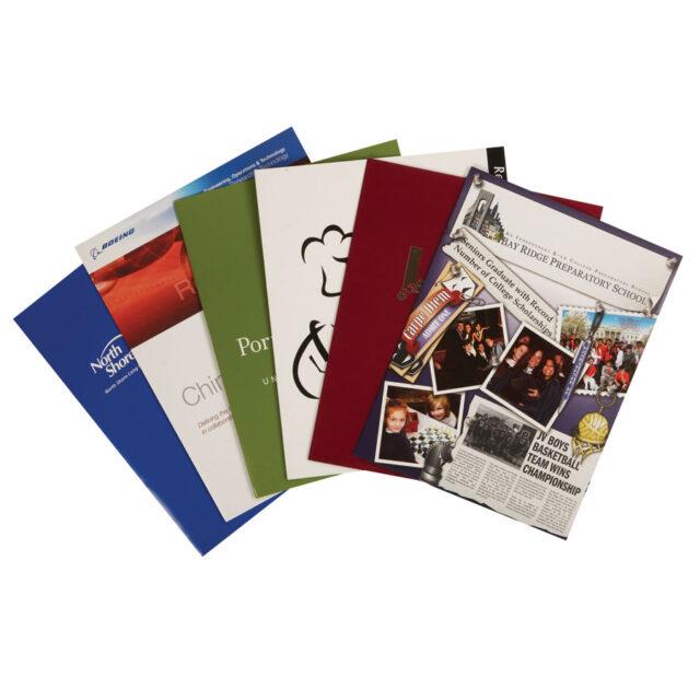 Custom Paper Presentation Folder