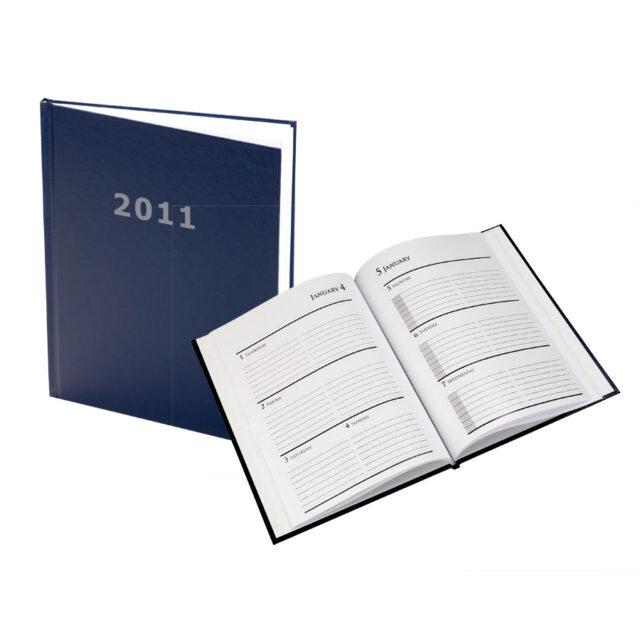 Hardcover Journal Calendar