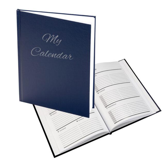 Hard Cover Journal Calendar