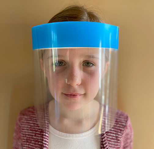 Kids Face Shield Front