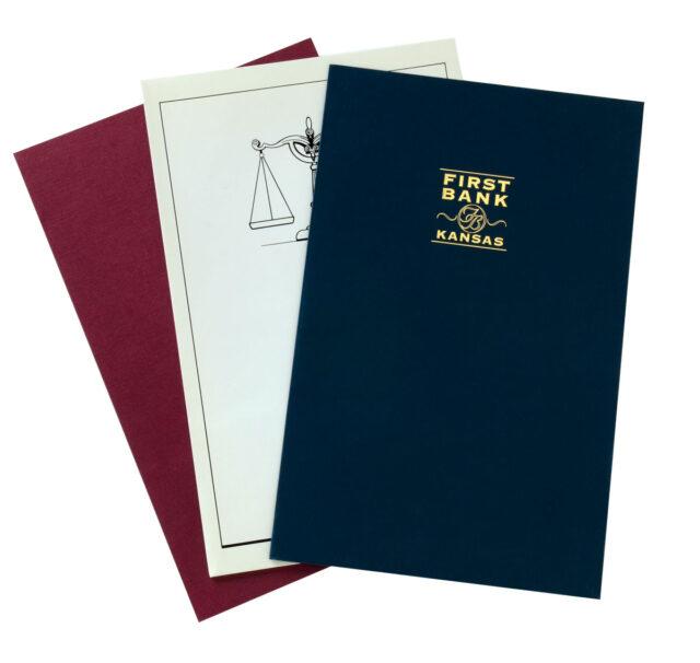 Legal Size Presentation Folders