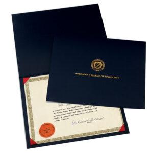 Regency Certificate Holder