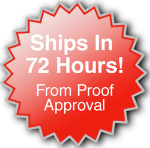 Ships in 72 Hours!