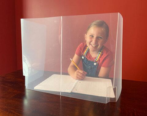 Small Safety Desk Shield