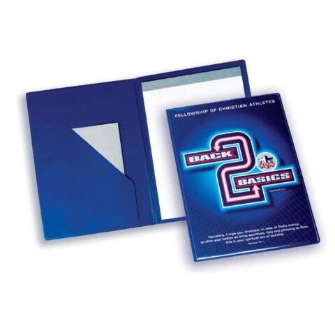 Vinyl Notepad Folder
